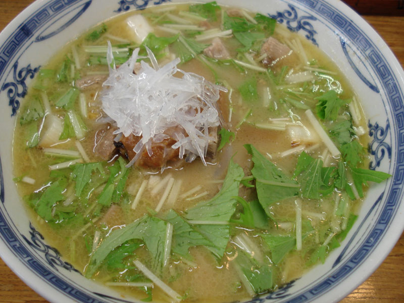 一福@囲炉裏麺
