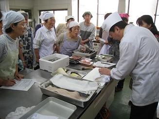 旬の料理教室