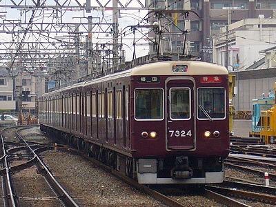 7324F 特急梅田行