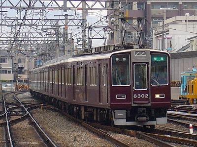 8302F 準急梅田行