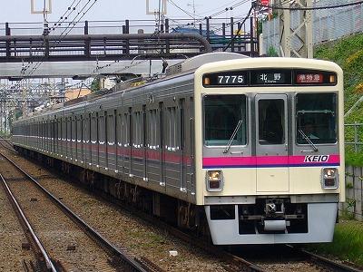 7025F 準特急北野行(北野から各停高尾山口行)