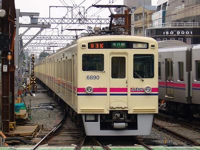 83K 6041F+6440F 急行本八幡行