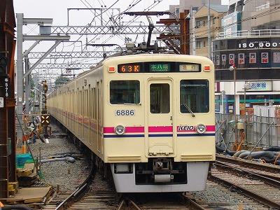 63K 6044F+6436F 急行本八幡行