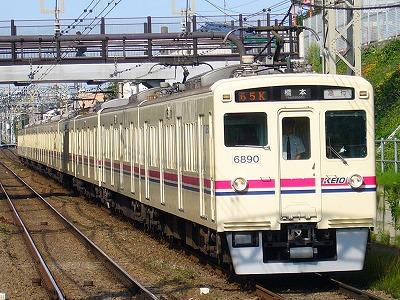 65K 6041F+6440F 急行橋本行