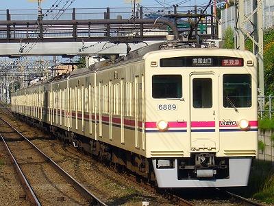 No.10 6040F+6439F 準特急高尾山口行