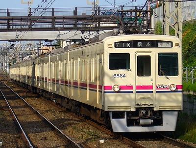 71K 6034F+3434F 急行橋本行