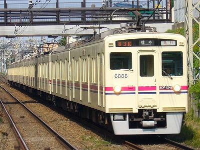 83K 6042F+6438F 急行橋本行