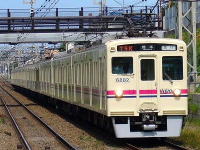 75K 6040F+6432F 急行橋本行