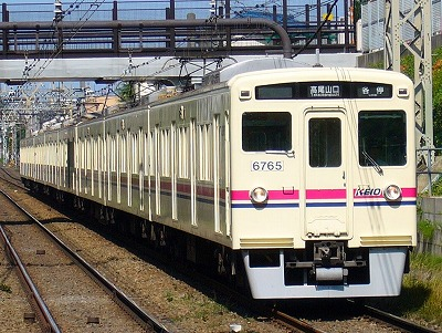 No.41 6015F 各停高尾山口行