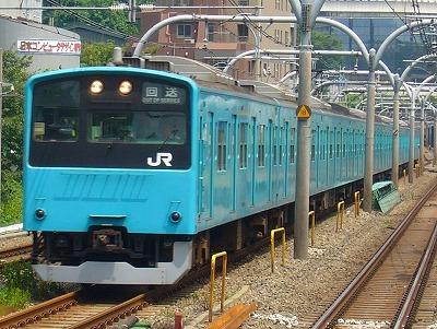 ケヨ区201系K4+K54 TK入場回送 運番不詳