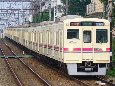 69K 6044F+6436F 通勤快速本八幡行