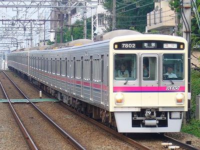 No.42 7202F+7002F 急行新宿行