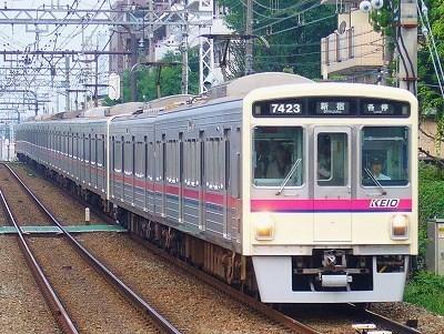 No.38 7423F+7007F 各停新宿行