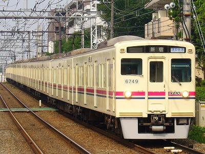 No.24 6049F+6437F 通勤快速新宿行