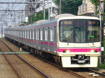 No.17 8024F 各停新宿行