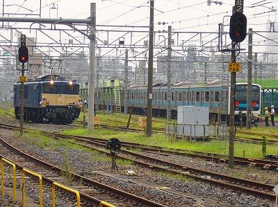 EF64-1031、209系