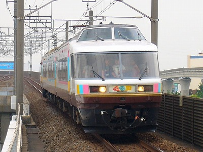 団体臨時列車 485系ジョイフルトレインNO.DO.KA 舞浜行
