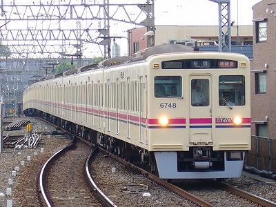 No.10 6048F+6439F 準特急新宿行