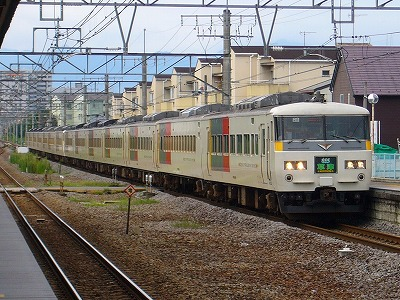 3001M 185系14B 特急草津1号万座・鹿沢口行