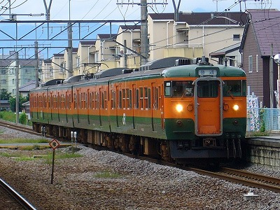 2773M T1091 上越線普通渋川行
