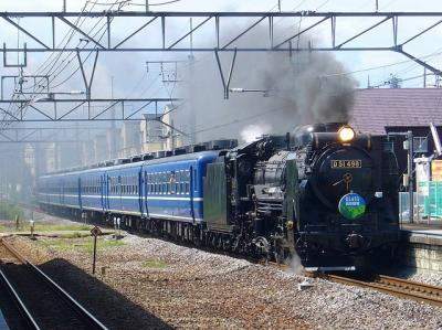 9733レ D51-498+12系6B 快速EL&SL奥利根