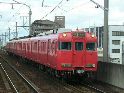 07.08.14 名鉄瀬戸線 6000系