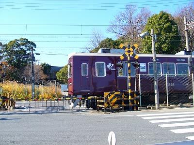 阪急甲陽線水道路踏切