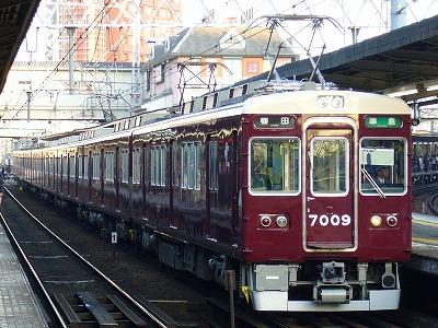 7009F 準急梅田行