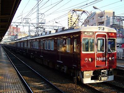 7005F+8003F 特急梅田行