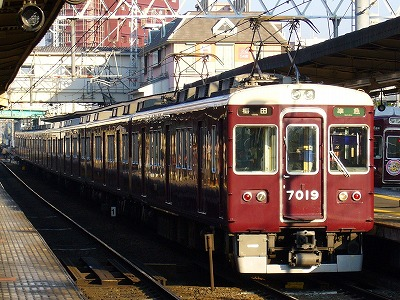 7019F 準急梅田行