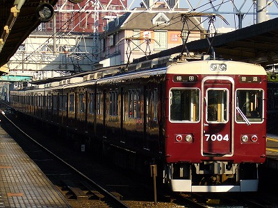 7004F 普通梅田行