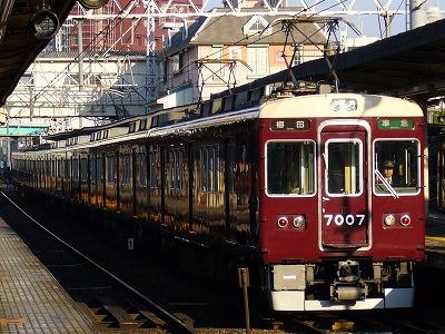 7007F 準急梅田行