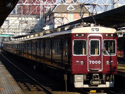 7000F 普通梅田行