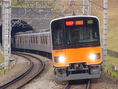 50T 51055F 急行清澄白河行