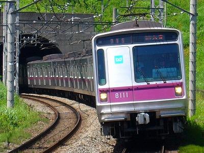71S 8111F 急行久喜行
