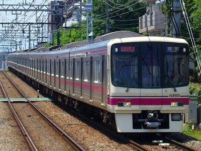 8009F 準特急新宿行