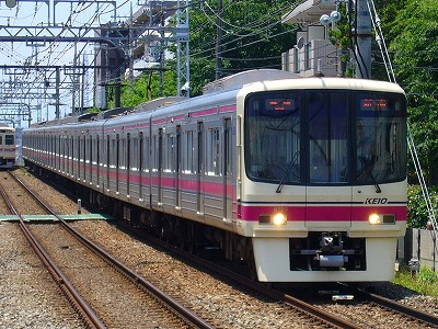 8033F 各停新宿行