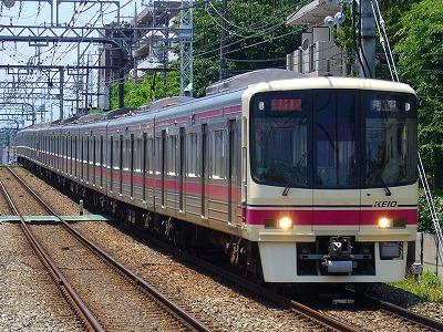 8003F 準特急新宿行