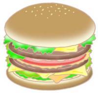 Гамбургер ・ Быстрое питание ・ Закуски