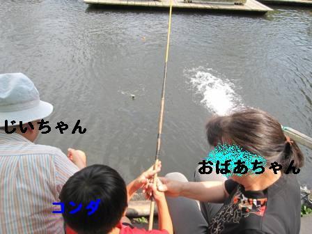 魚釣りコンダ
