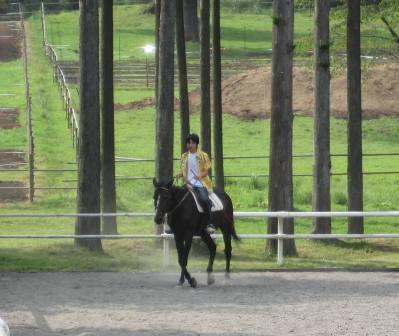乗馬体験のダッタ
