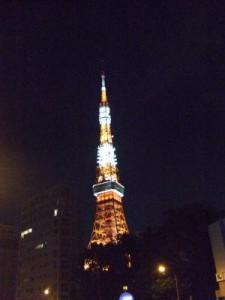 2008年8月14日東京タワー