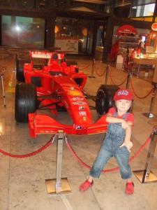 2008年8月17日フェラーリ