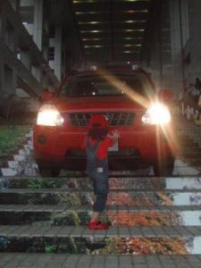 2008年8月17日車