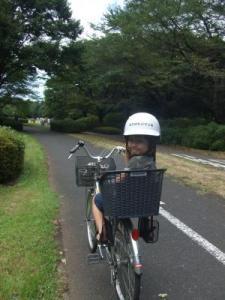 2008年8月31日自転車