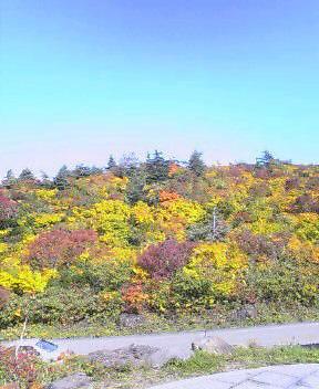 栗駒山荘の近く