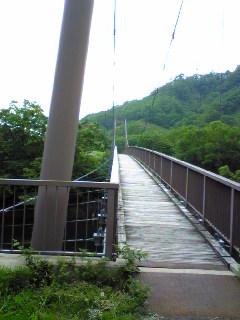 鉄筋のつり橋
