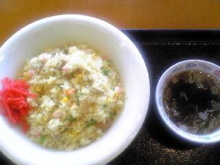 サテライト六郷の大盛り炒飯