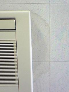 エアコン水漏れ