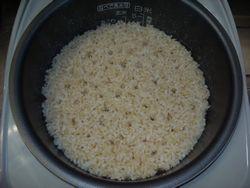 玄米炊飯3